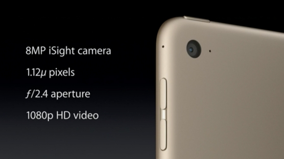 iPad Air 2 and iPad Pro cameras