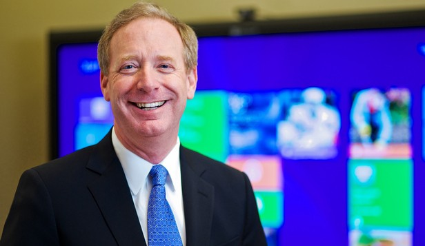 Brad Smith, general counsel of Microsoft.  2014.  HANDOUT.