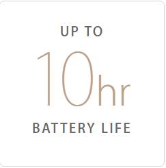 10hr Battery Life