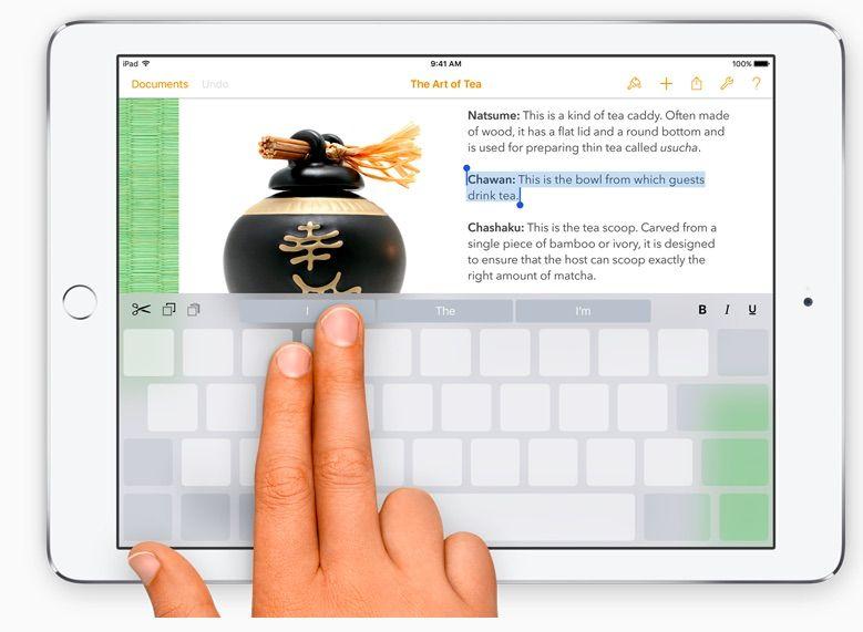 iPad-trackpad