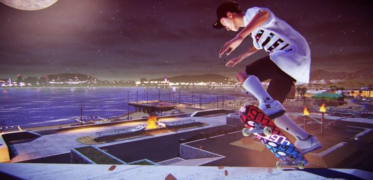 Tony Hawk's Pro Skater 5 gameplay snap.