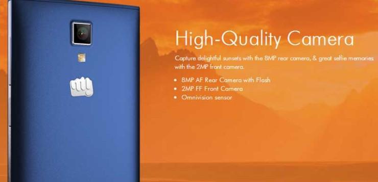 Micromax Canvas Xpress 4G.