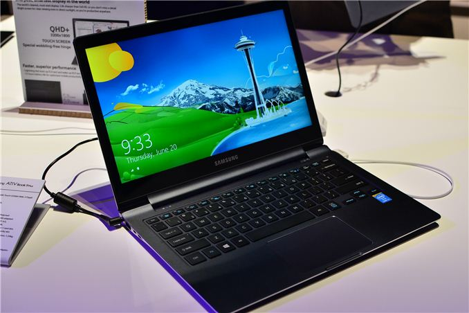 Samsung ATIV Book 9 Plus 2013.