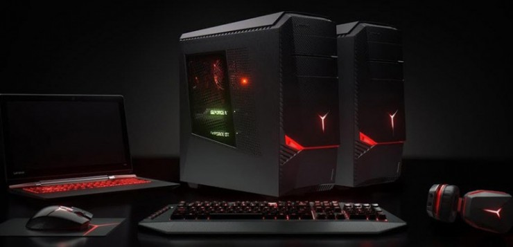 Lenovo's Y-series gaming systems, soon to be enhanced from Razer's expertise in the field.