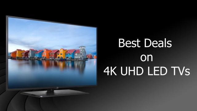 Cyber Monday Deals on 4K LED TVs