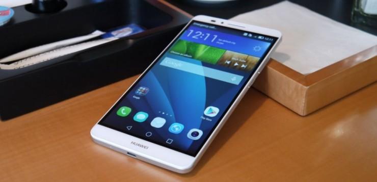 Huawei Ascend Mate 7. Photo credit: TechRadar