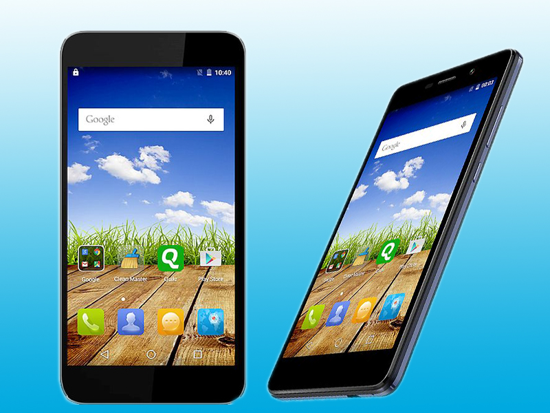 Left: Micromax Canvas Mega Right: Micromax Canvas Amaze