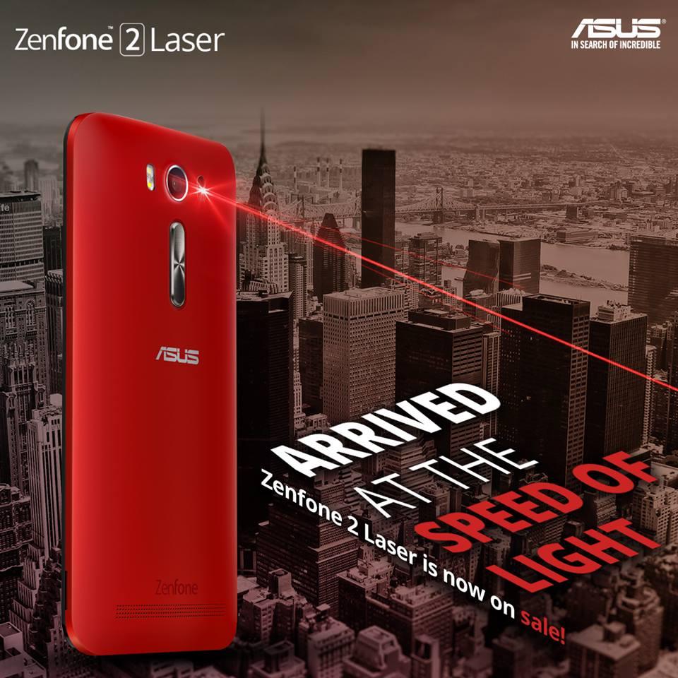 Asus ZenFone 2 Laser ZE550KL Android 50 Lollipop Released