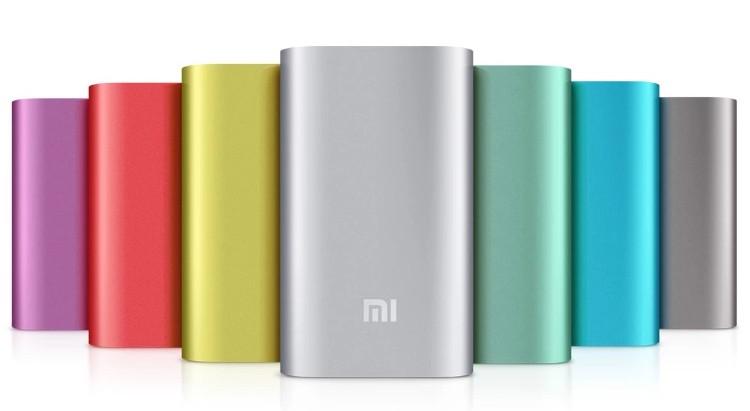 Xiaomi 5200mAh battery Powerbank.