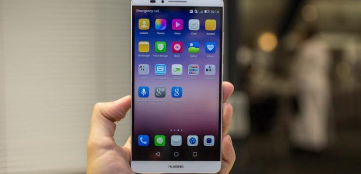 Huawei Ascend Mate 7 (2014).