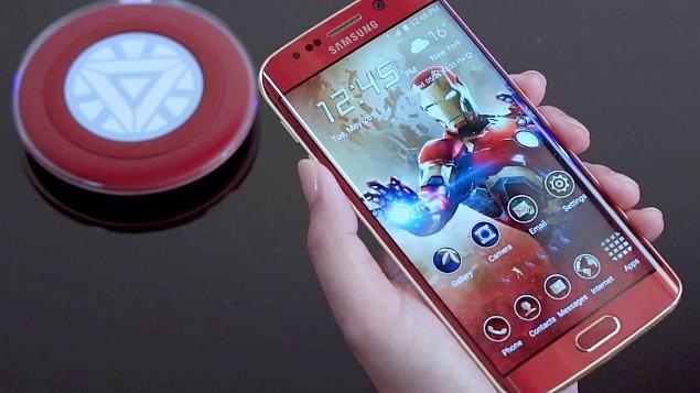 Samsung Galaxy S6 Iron Man edition.