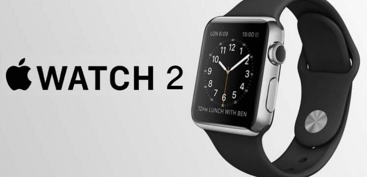 Apple Watch 2 smartwatch concept.