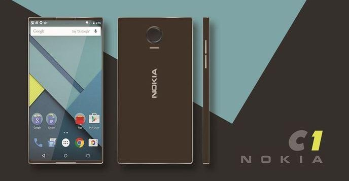 Nokia's purported C1 smartphone will be available in Android 5.1 Lollipop and Windows 10 Mobile OS variants.