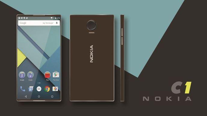 Nokia C1 Android/Windows 10 Mobile smartphone new specs ...