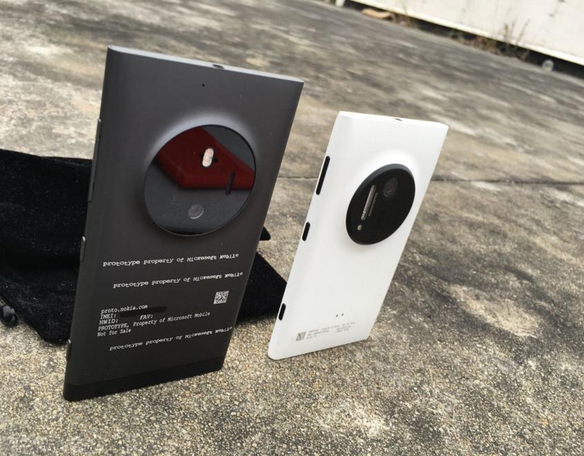 Lumia McLaren prototype.