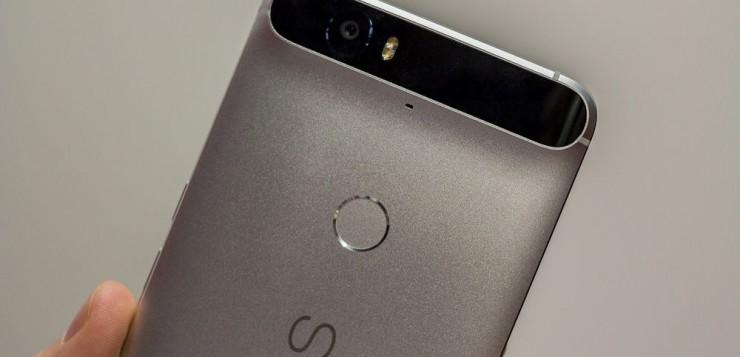 Huawei Nexus 6P.