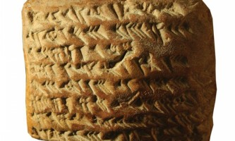Ancient Babylonians Astronomy Tablet Geometry