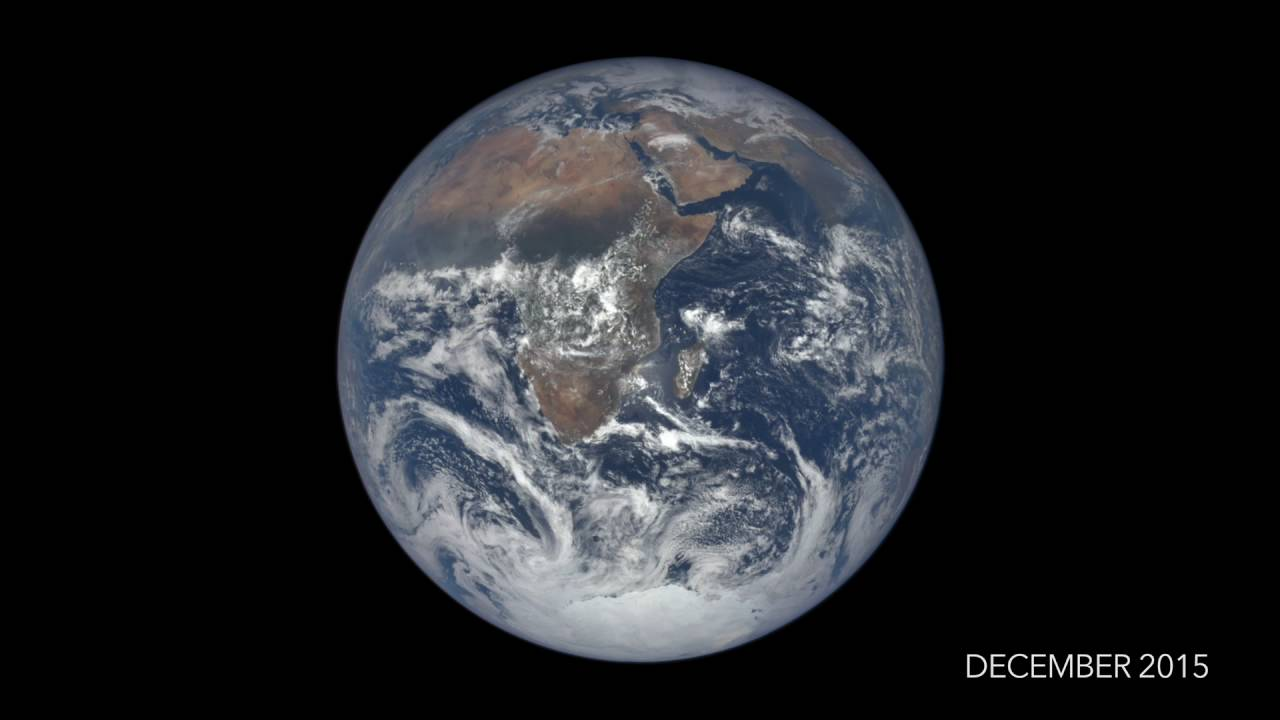 NASA's EPIC presents time-lapse video of Earth spin an entire year