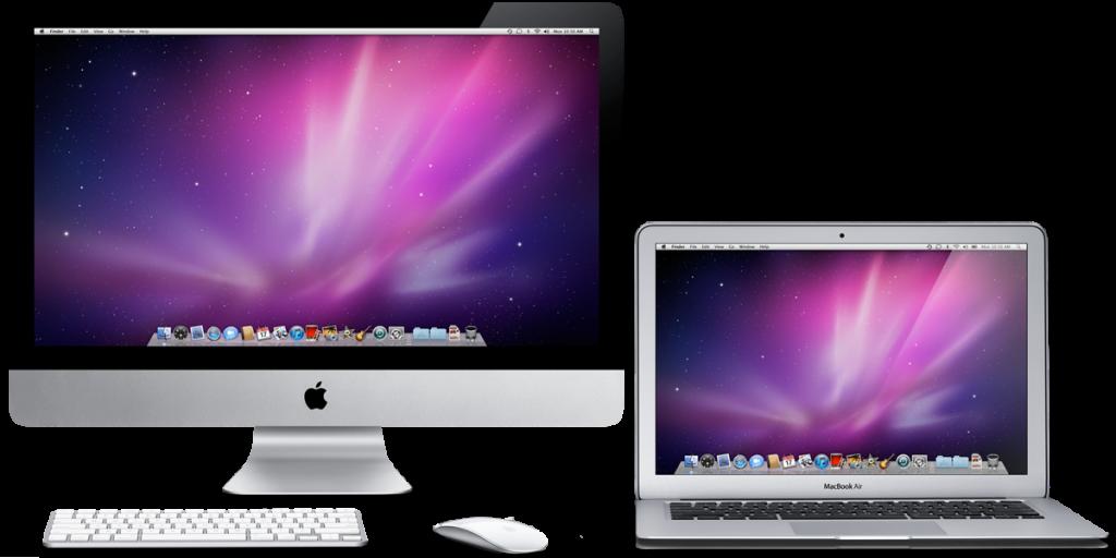 MacBook Air and iMac
