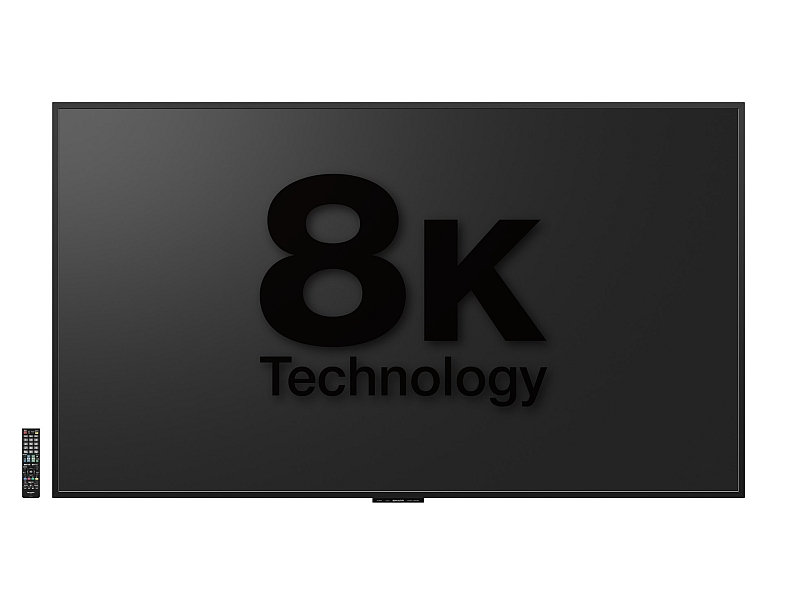 Sony and Panasonic 8K TV