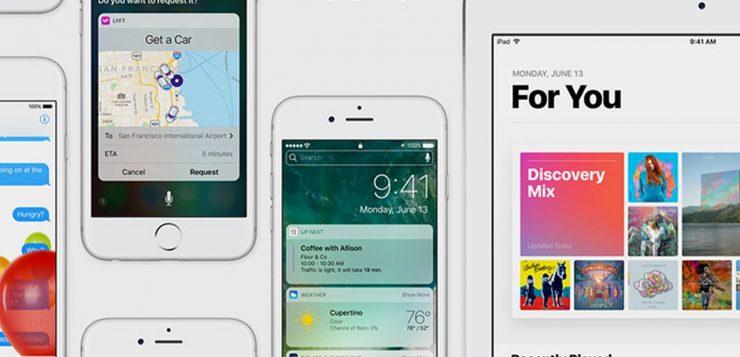 iOS 10 Beta 4
