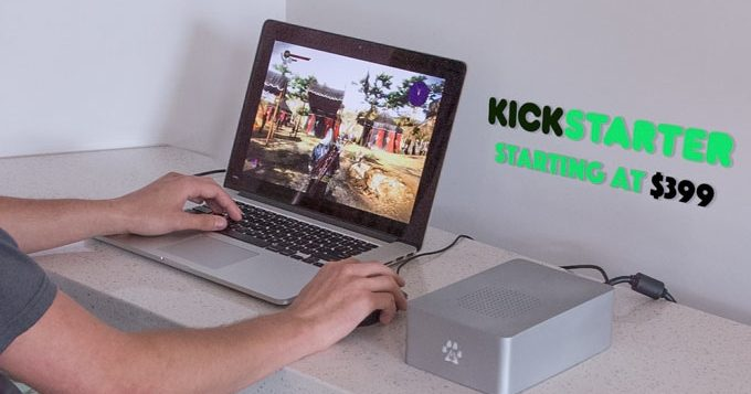 Wolfe Kickstarter project turns MacBook into high-end gaming machine