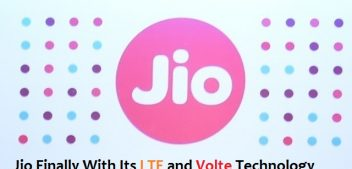 Jio Finally With Its LTE and Volte Technology