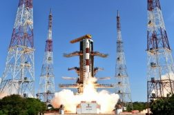 PSLV-C35 Carrying Eight Satellites Including SCATSAT