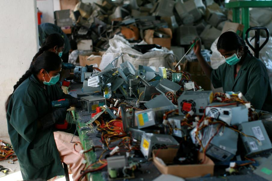 recycled electronics used to make olympic medals for tokyo games