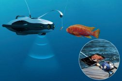 Powerray—an Underwater Drone for Marine Exploration and Fishing