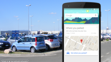 """""""Parking Reminders"""" In Google Maps for Androids"""