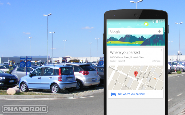 """Parking Reminders"" In Google Maps for Androids"