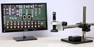 Automatic Image PCB Dimension Measurement System