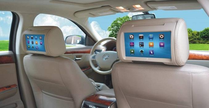Automotive Headrest Monitors