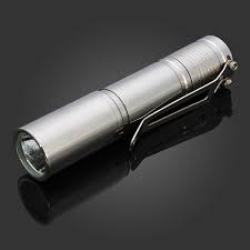 LED Steel Flashlight Market