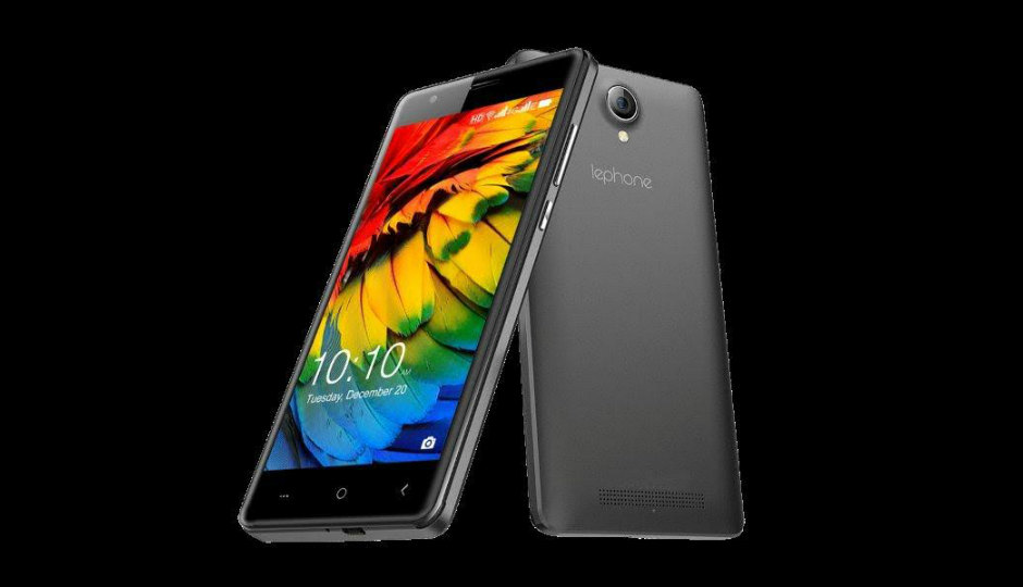 Lephone W7 4G Smartphone Launched