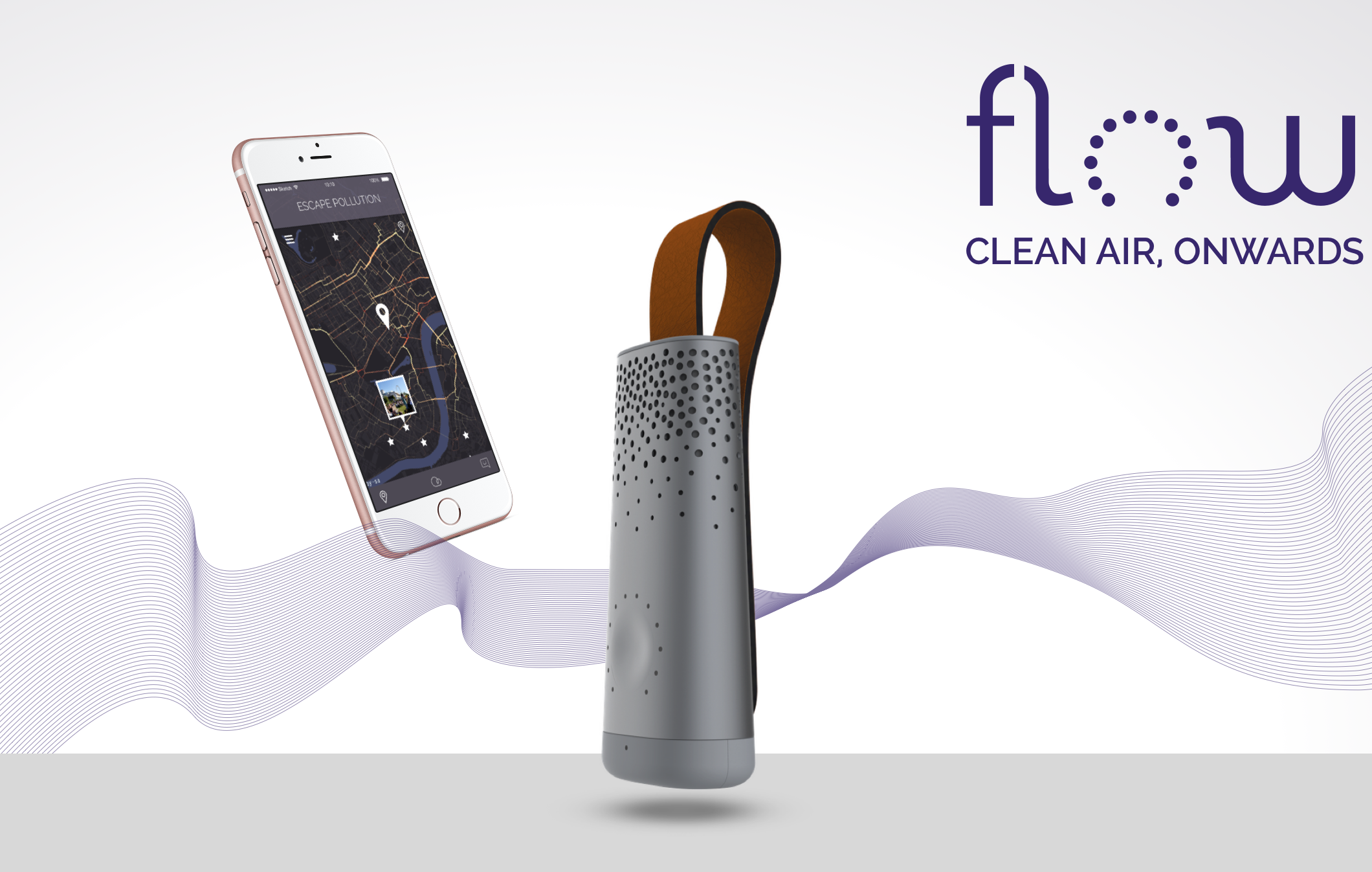 Flow Tracker Is the New Air Quality Tracker