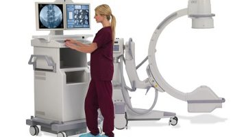 High Frequency Mobile C-Arm X-Ray Machine