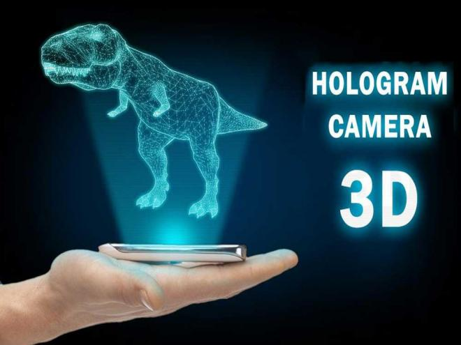 Scientists Create Thinnest Hologram in the World