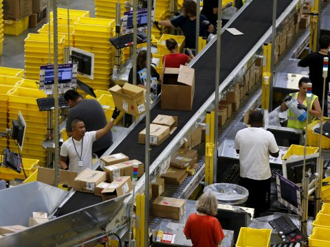 Amazon Rolls Its Second Fulfillment Center In UP