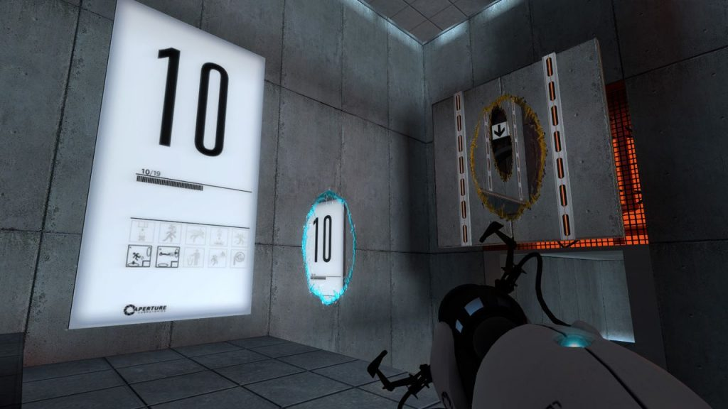"Popular Puzzle Game ""Portal"" Becomes 10"