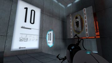 """Popular Puzzle Game """"Portal"""" Becomes 10"""