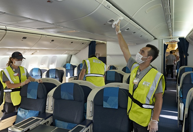 Global Aircraft Interior Cleaning Services Market 2017 Abm Jetfast Sharp Details Aero